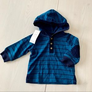 NWT- Gymboree Hoodie Shirt 3-6 months